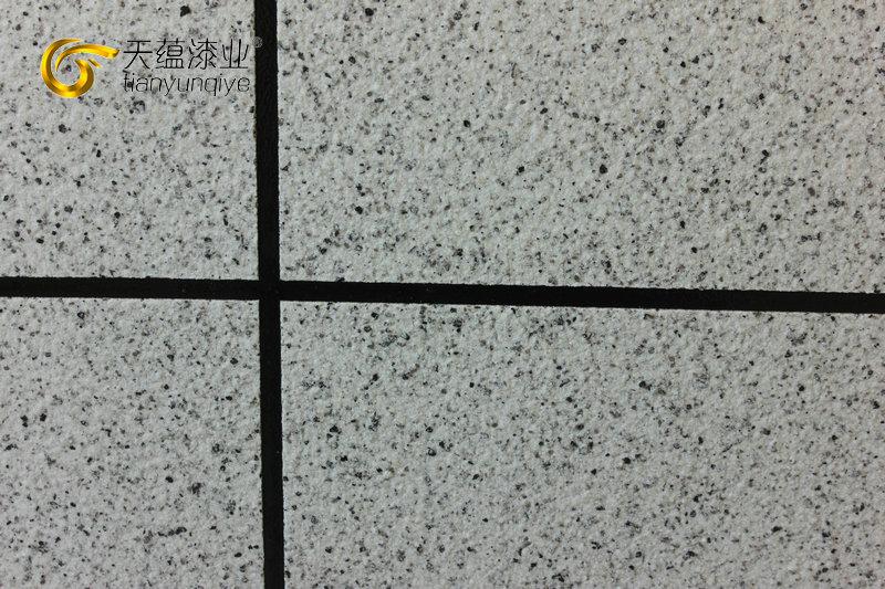 外墙涂料真石漆工艺-真石漆施工分格设计